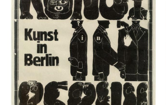 "Rixdorfer Drucke - Original Poster ""Kunst in Berlin"""
