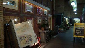 Standort Galerie - letzte, freie Reihe in der Arminusmarkthalle